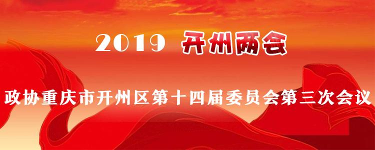 政协重庆市开州区第十四届委员会第三次会议
